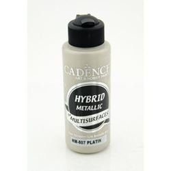 Picture of CADENCE HYBRID ACRYLIC METALLIC PAINT 70ML PLATINUM