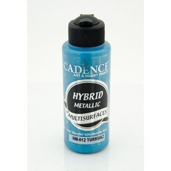 Picture of CADENCE HYBRID ACRYLIC METALLIC PAINT 70ML TURQUOISE