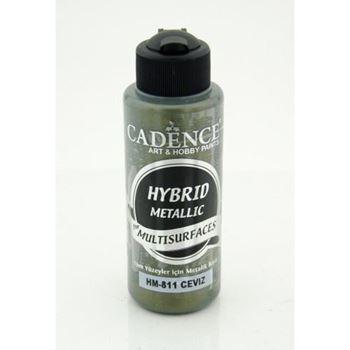 Picture of CADENCE HYBRID ACRYLIC METALLIC PAINT 70ML WALNUT
