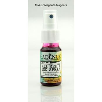 Picture of CADENCE SPRAY INK 25ML MAGENTA