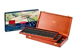 Picture of DERWENT ARTISTS PENCILS 120 WOODEN BOX