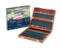 Picture of DERWENT ARTISTS PENCILS 48 WOODEN BOX