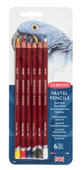 Picture of DERWENT PASTEL BLISTER PACK OF 6
