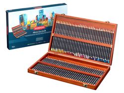 Picture of DERWENT PROCOLOUR WOODEN BOX OF 72