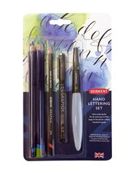 Picture of DERWENT HAND LETTERING SET