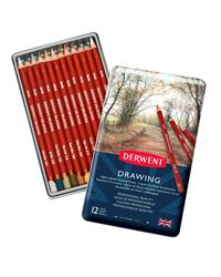 Picture of DERWENT DRAWING TIN OF 12