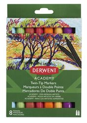 Picture of DERWENT ACADEMY TWIN TIP CHISEL MARKERS