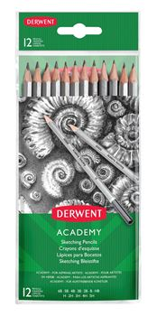 Picture of DERWENT ACADEMY SKETCHING WALLET 12