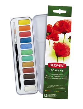 Picture of DERWENT ACADEMY WATERCOLOUR PAN SET