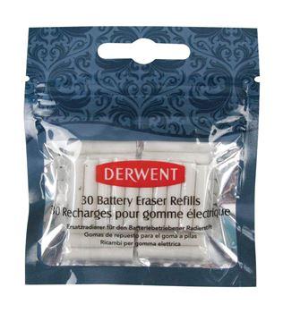 Picture of DERWENT BATTERY ERASER REFILLS PACK 30