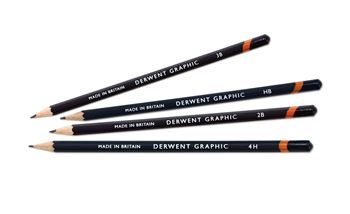 Picture of DERWENT GRAPHIC PENCILS LOOSE (9H - 9B)