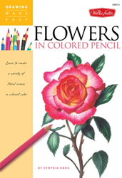 Picture of W/F DME14 FLOWERS IN PENCIL
