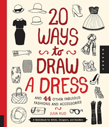 Picture of W/F 20 WAYS TO DRAW A DRESS