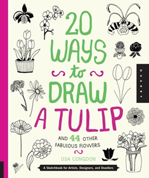 Picture of W/F 20 WAYS TO DRAW A TULIP