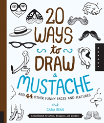Picture of W/F 20 WAYS TO DRAW MUSTACHE