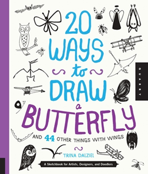 Picture of W/F 20 WAYS TO DRAW BUTTERFLY