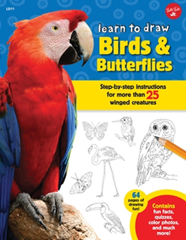 Picture of W/F TO DRAW BIRDS & BUTTERFLY