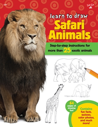 Picture of W/F TO DRAW SAFARI ANIMALS