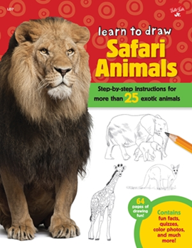 Picture of W/F TO DRAW SAFARI ANIMALS