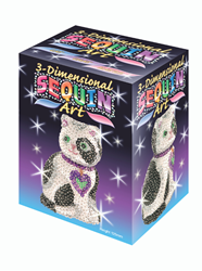 Picture of SEQUIN ART CAT 3D
