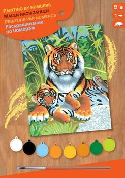 Picture of PAINT BY NO.JUNIOR TIGERS