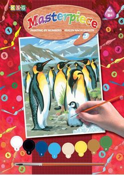 Picture of PAINT BY NUMEBRS JUNIOR PENGUINS