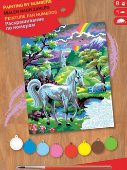 Picture of PAINT BY NO.JUNIOR UNICORN