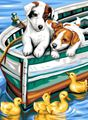 Picture of PAINT BY NO.JUNIOR PUPPIES AND DUCKS