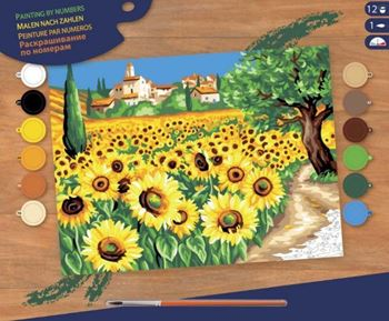 Picture of PAINT BY NO.SENIOR SUNFLOWERS