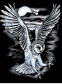Picture of ARTFOIL SILVER OWL