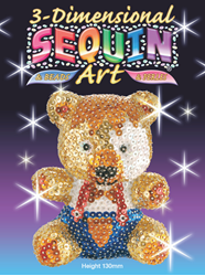 Picture of SEQUIN ART TEDDY