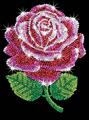 Picture of SEQUIN ART ORIGINAL RED ROSE