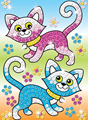 Picture of SEQUIN ART LASER - CATS