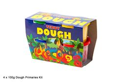 Picture of TEDDY DOUGH 4 X 100ML TUBS