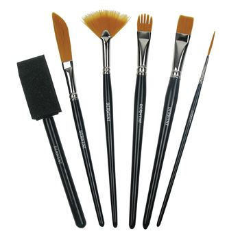 Picture of DERWENT TECHNIQUE BRUSH SET
