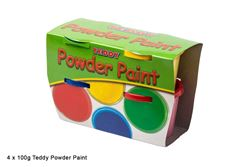 Picture of TEDDY POWDER PAINT 4X100ML TUB