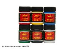 Picture of COLOUR CRAFT 6 X50ML CRAFT SET