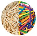 Picture of DALA COLOURED MATCH STICKS 50G