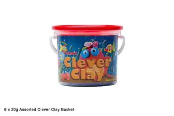 Picture of CLEVER CLAY 125GSM ASSORTED