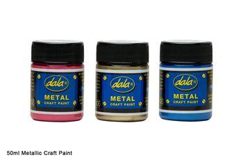 Picture of DALA CRAFT PAINT METALLIC 250ML