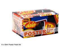 Picture of DALA POSTER PAINT 6X50ML KIT