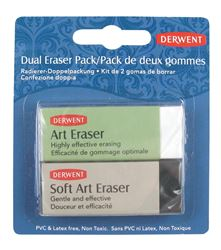 Picture of DERWENT DUAL ERASER PACK