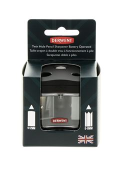 Picture of DERWENT BATTERY TWIN HOLE SHARPENER