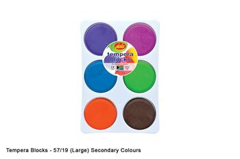 Picture of TEMPERA BLOCK KIT 6 PRIMARY