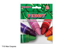 Picture of TRIANGULAR WAX CRAYONS