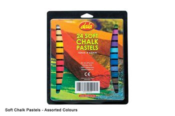 Picture of DALA CHALK PASTELS 24PCS