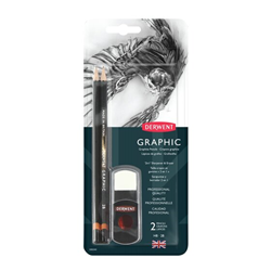 Picture of Graphic Pencil 2 in 1 Blister Set
