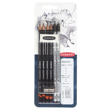 Picture of Derwent Graphic Pencil Mixed Media, Pack, 8 Count