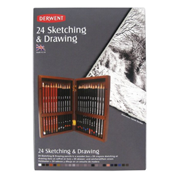 Picture of D/W SKETCHING WOOD BOX 24
