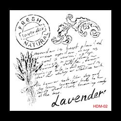 Picture of CADENCE STENCIL LAVENDER
